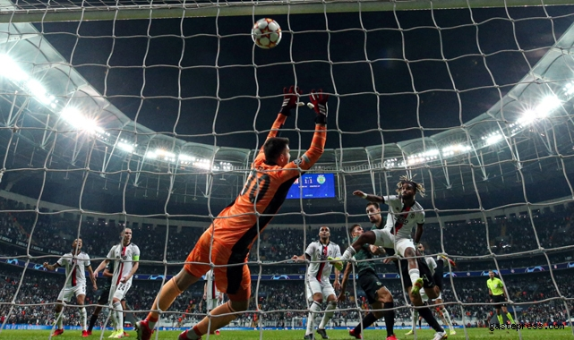 Devler Ligi Beşiktaş'a büyük geldi! Sporting farklı kazandı!