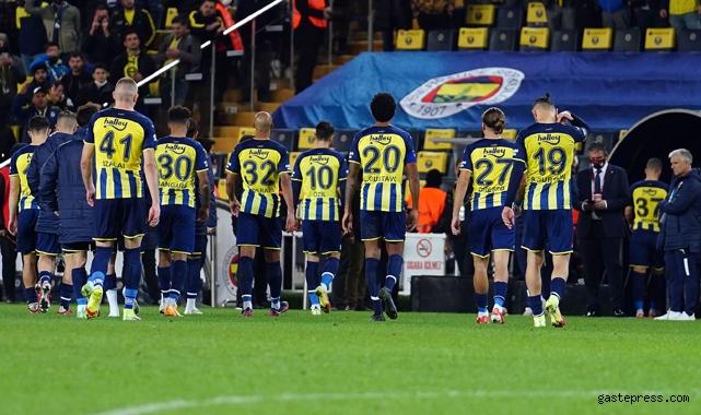 Fenerbahçe 2 maçta 6 puan kaybetti!