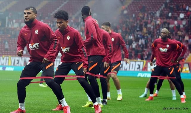 Galatasaray, Beşiktaş maçının hazırlıklarını statta tamamladı!