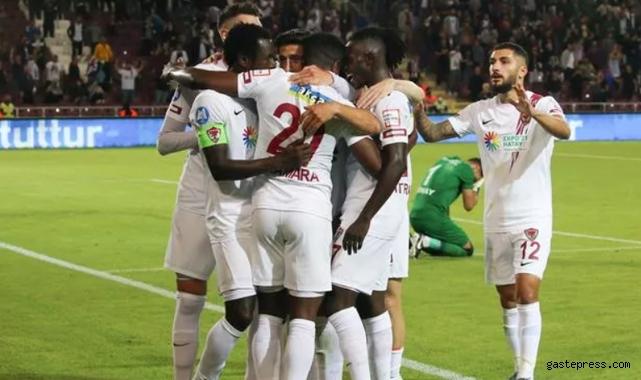 Gaziantep FK'yı 2-1 ile geçen Hatayspor seriye bağladı!