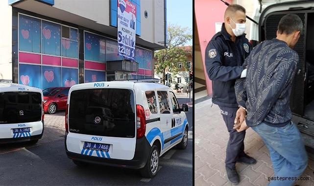 Kapanan hastaneden hırsızlık yaparken yakalandı!