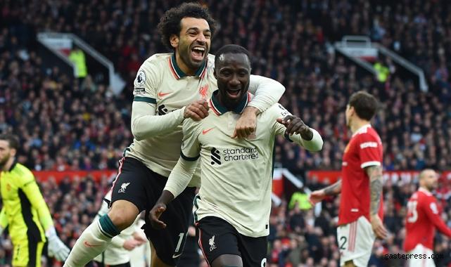 Muhammed Salah şov yaptı, Liverpool Manchester United'ı dağıttı!