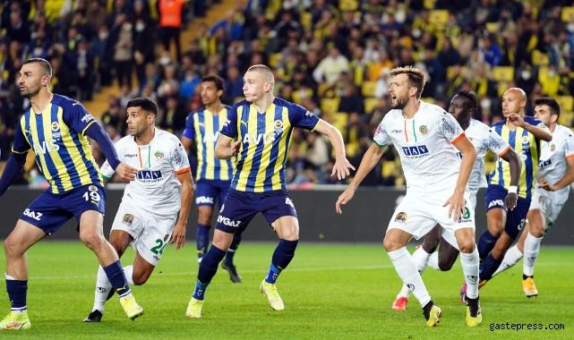 Süper Lig: Fenerbahçe - Alanyaspor