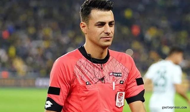 Trabzonspor Fenerbahçe maçının hakemi Ali Şansalan oldu!