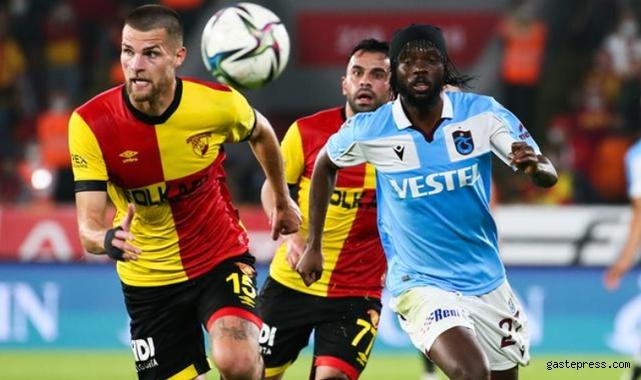 Trabzonspor, Göztepe deplasmanında zor da olsa kazandı!