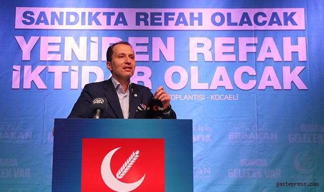 Yeniden Refah Partisi ilk seçimde sandıklardan yanardağ gibi patlayacak!